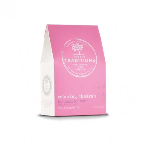 J'ai testé pour vous le sachet de thé pour le bain de TREETS TRADITION - Relaxing chakra's