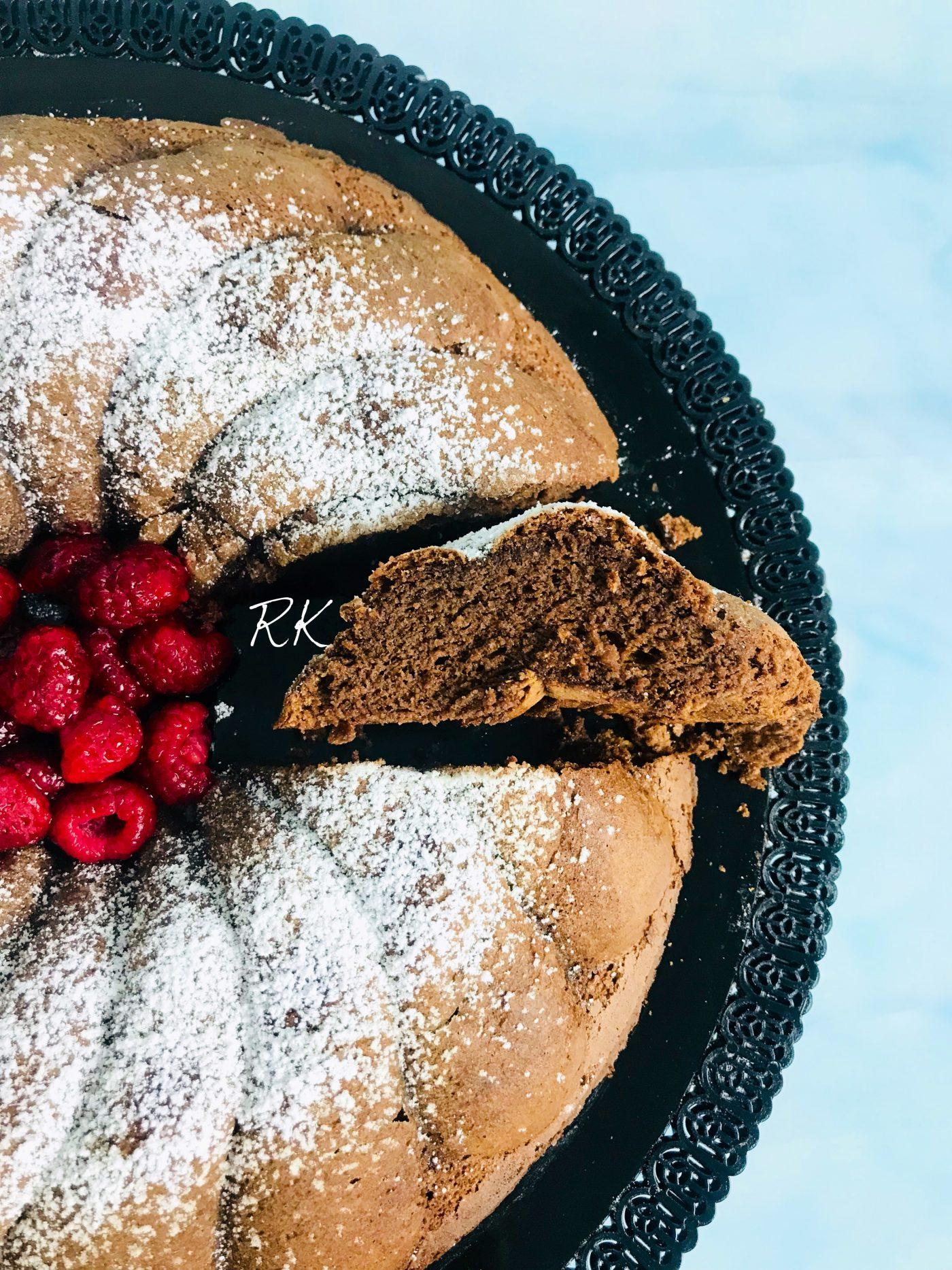 Gâteau au chocolat sans levure et sans farine