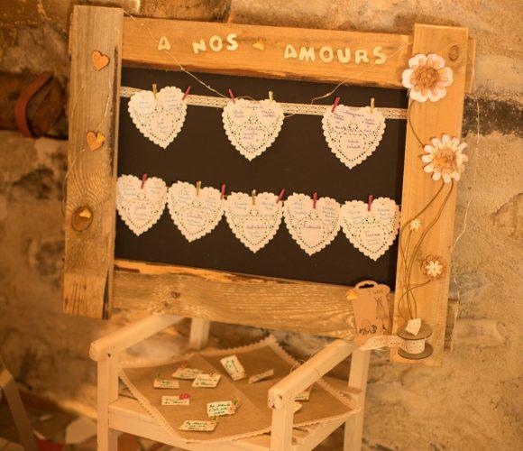 Plan de table palette romantique ?