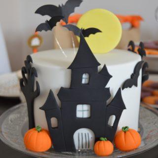 """Gâteau """"la maison Hantée"""""""