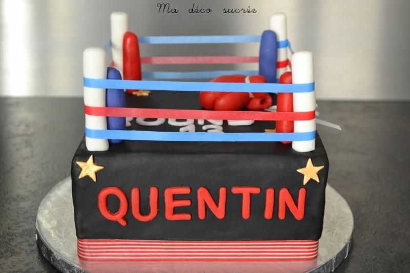 Gâteau ring de boxe