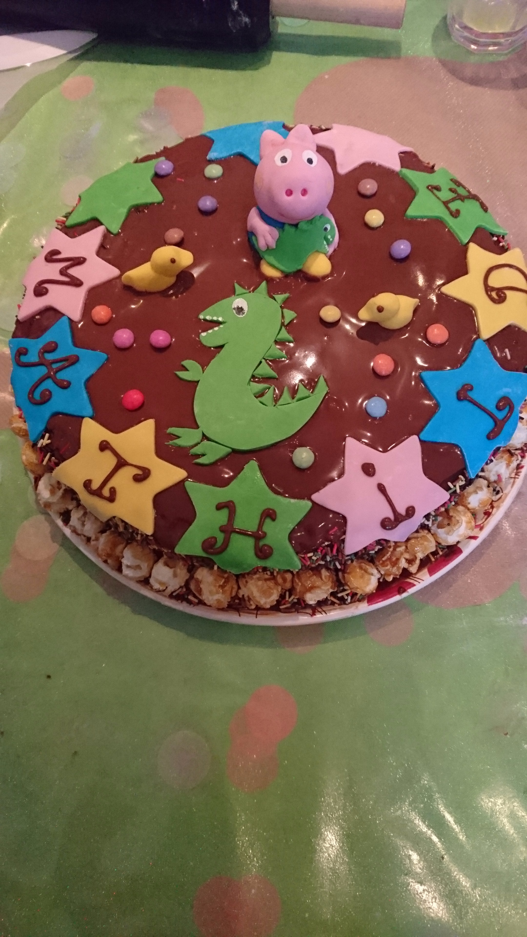 Le gâteau de gorges!! Partie 1