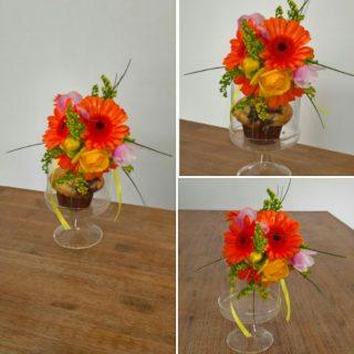 Une petite douceur fleurie sucrée