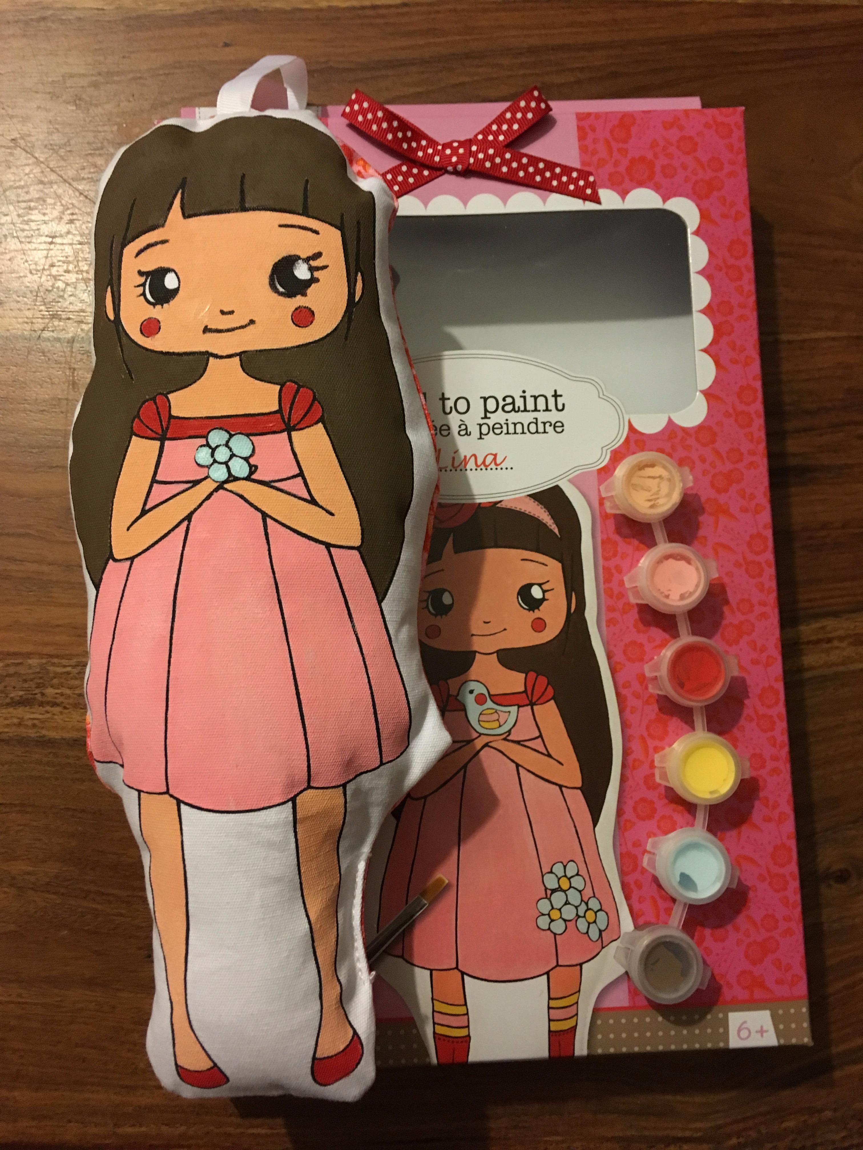 J'ai testé pour vous le KIT Doll to paint «LINA»