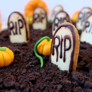 Mousse au chocolat d'Halloween