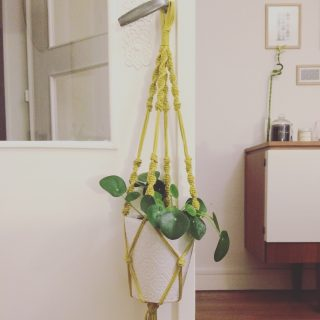 DIY : Une suspension en macramé !