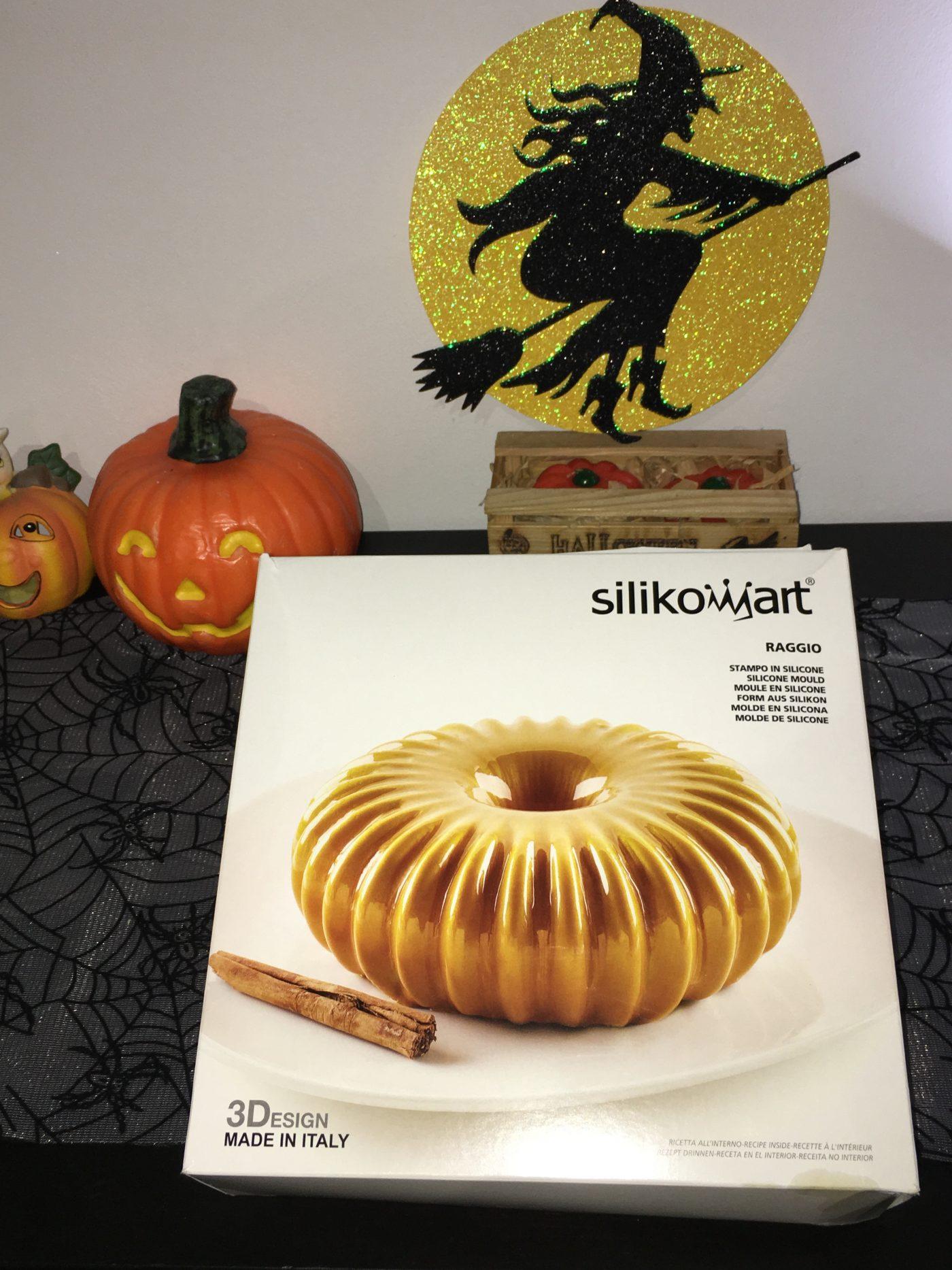 J'ai testé pour vous le moule RAGGIO de Silikomart pour Halloween