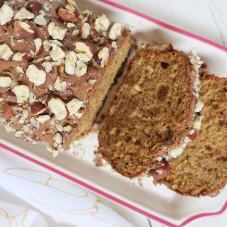 Cake 100% noisettes nappage Milka