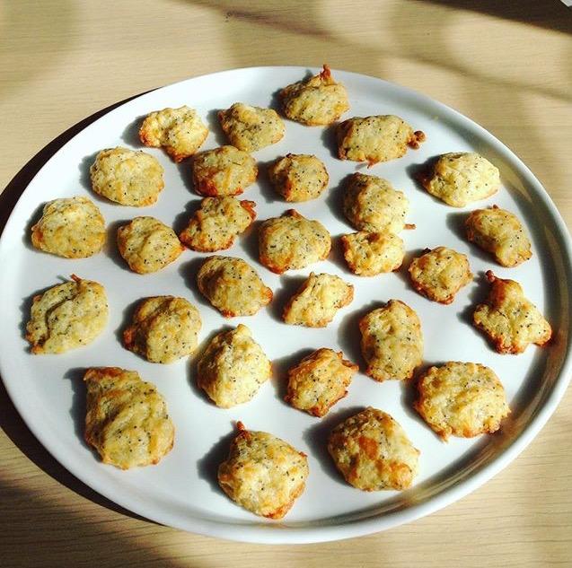 Biscuits apéritifs au fromage