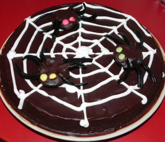 Gâteau aux araignées