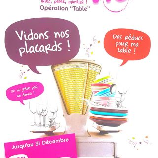 """Vidons nos placards!"" Opération Seconde vie ""Table"" chez Zodio Toulon"