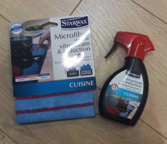 J'ai testé pour vous le kit nettoyant vitrocéramique et induction de chez starwax