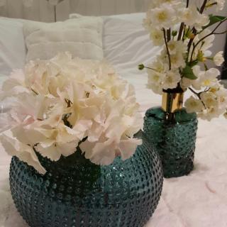 Les magnifiques vases bleus !