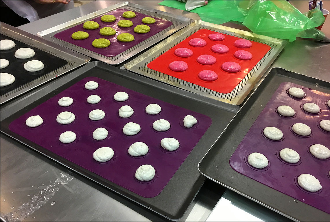 Atelier Vegan Macarons et Mousse au chocolat