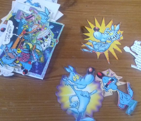 Création de mes stickers à partir d autocollants Panini