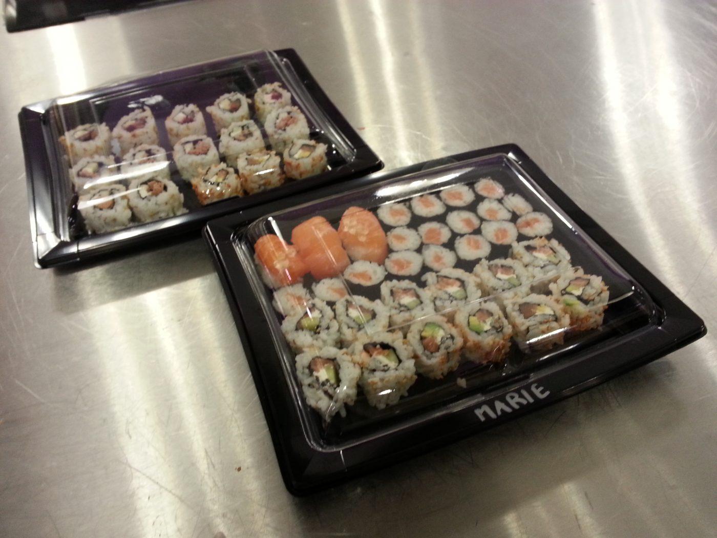 Apprendre à faire des sushis