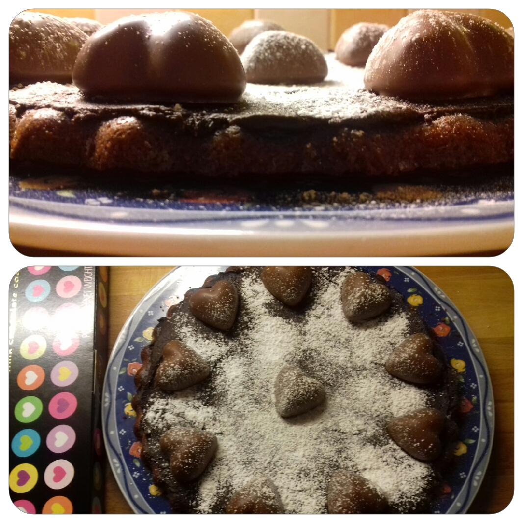Gâteau souple aux coeurs guimauve ?