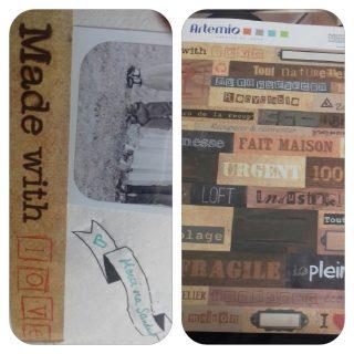J'ai testé pour vous la planche stickers 30x30 thème bricolage Artemio