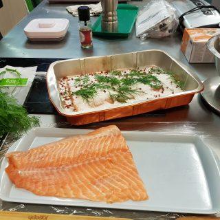 J'ai testé pour vous l'atelier technique autour du saumon