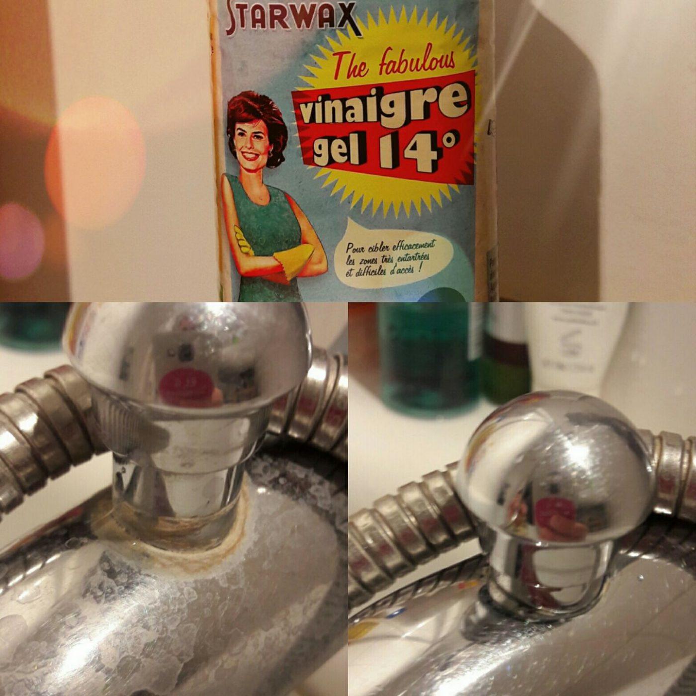 J'ai testé pour vous le vinaigre en gel de chez STARWAX !
