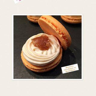 Macarons Mont-Blanc et mandarine