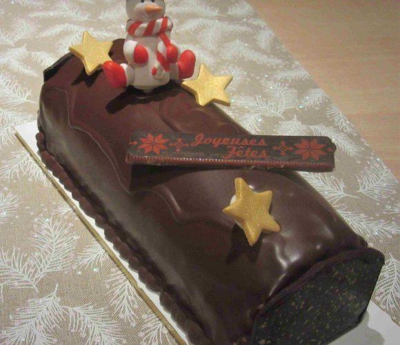 Recette de la bûche chocolat passion de Pierre Hermé