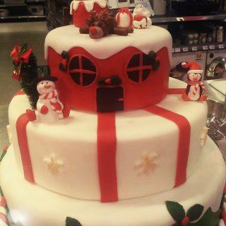 Cake design spécial Noël