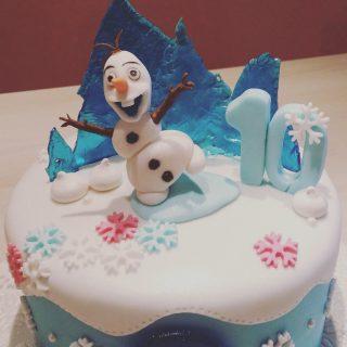 Olaf et la reine des neiges.