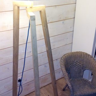 Créer soi-même une lampe trépied