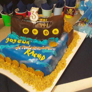 J'ai testé pour vous gâteau pirate à la pâte à su