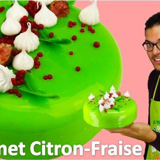 Mon Entremet Citron-Fraise