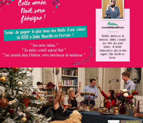 Grand concours de Noël avec Zôdio Neuville-en-Ferrain