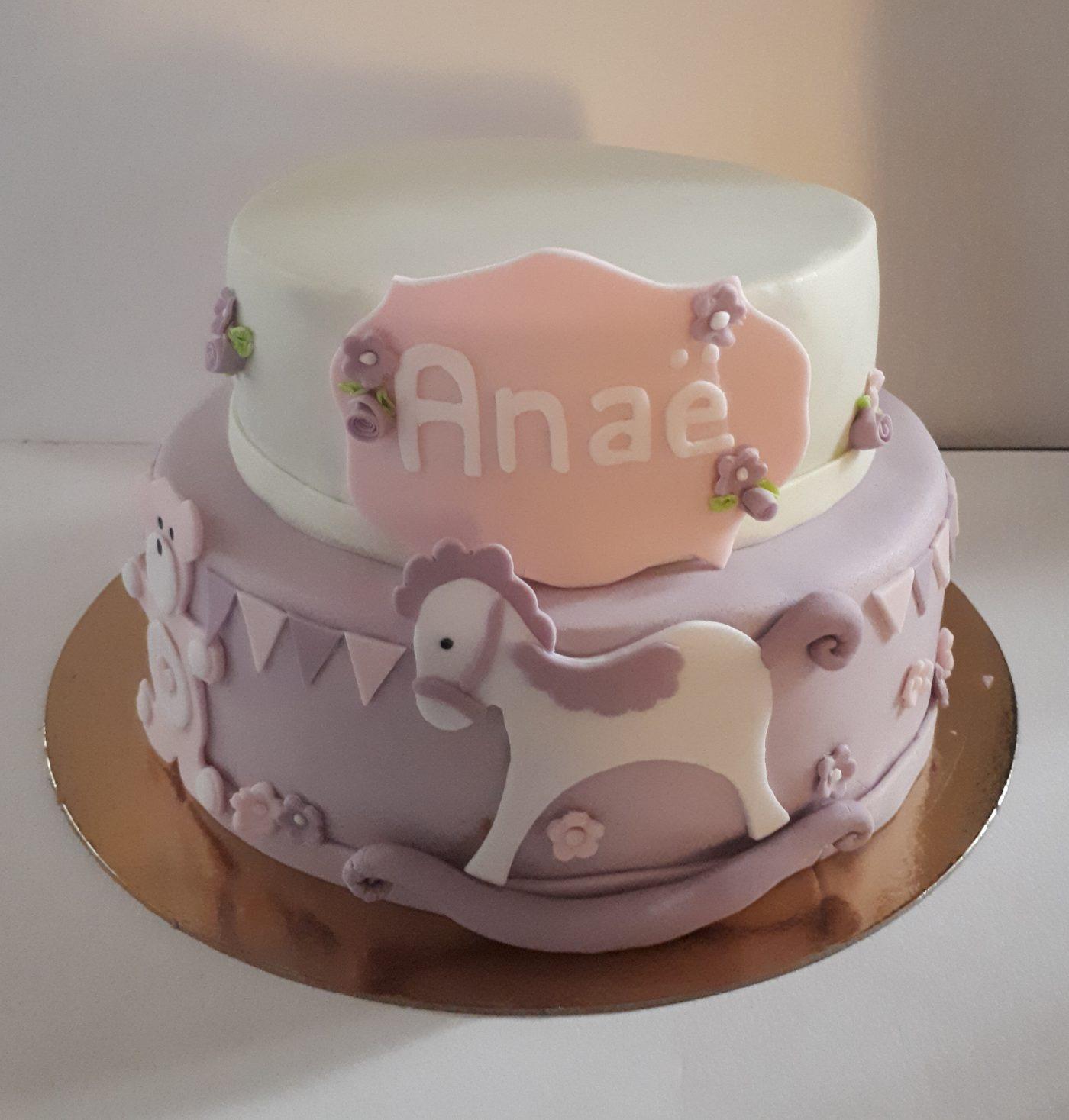 Cake design anniversaire de ma nièce