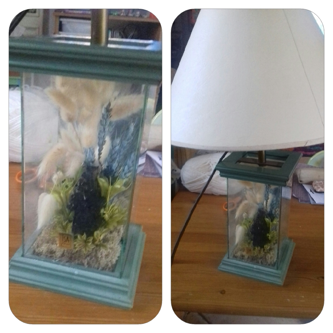 Transformation de ma lampe de salon