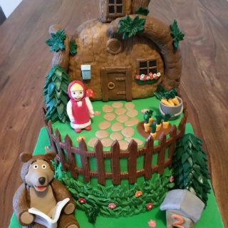 Gâteau Macha et Miscka.