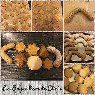 Bredeles ou biscuits de Noel