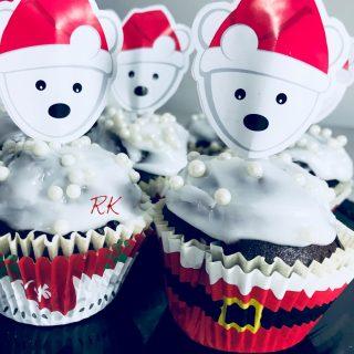 Cupcakes oursons au chocolat