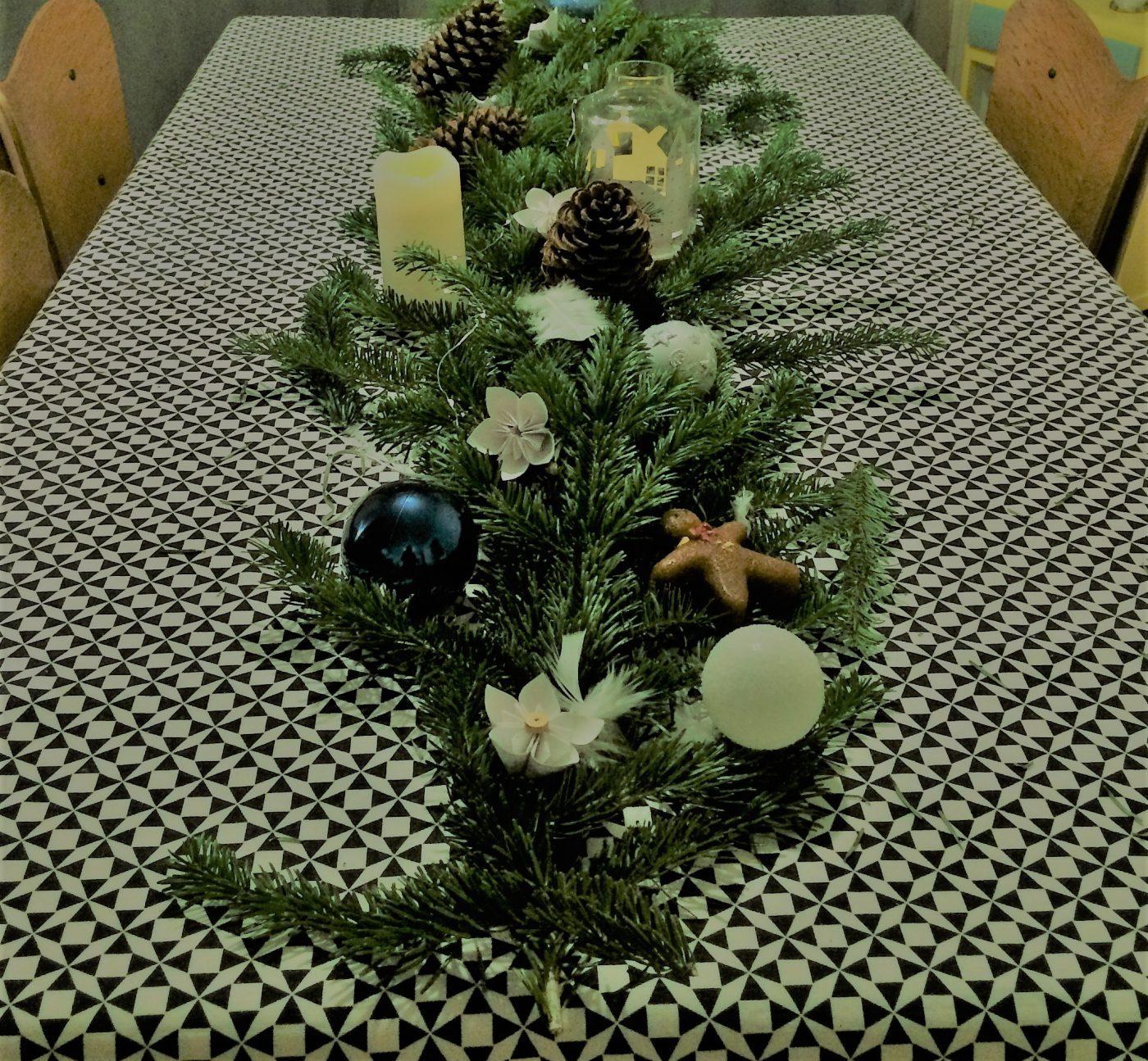 Table déco de Noël (Blog Zôdio)