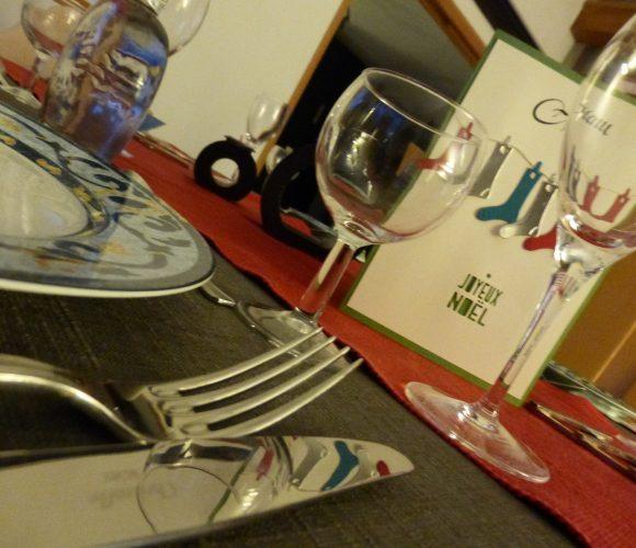Quelques idées pour vos tables de fêtes !
