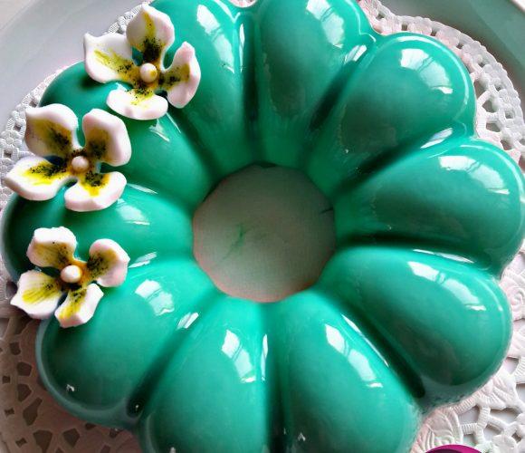 Entremet citron vert / noix de coco
