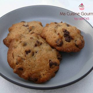 Cookies de Noël : Chocolat, Orange et Epices