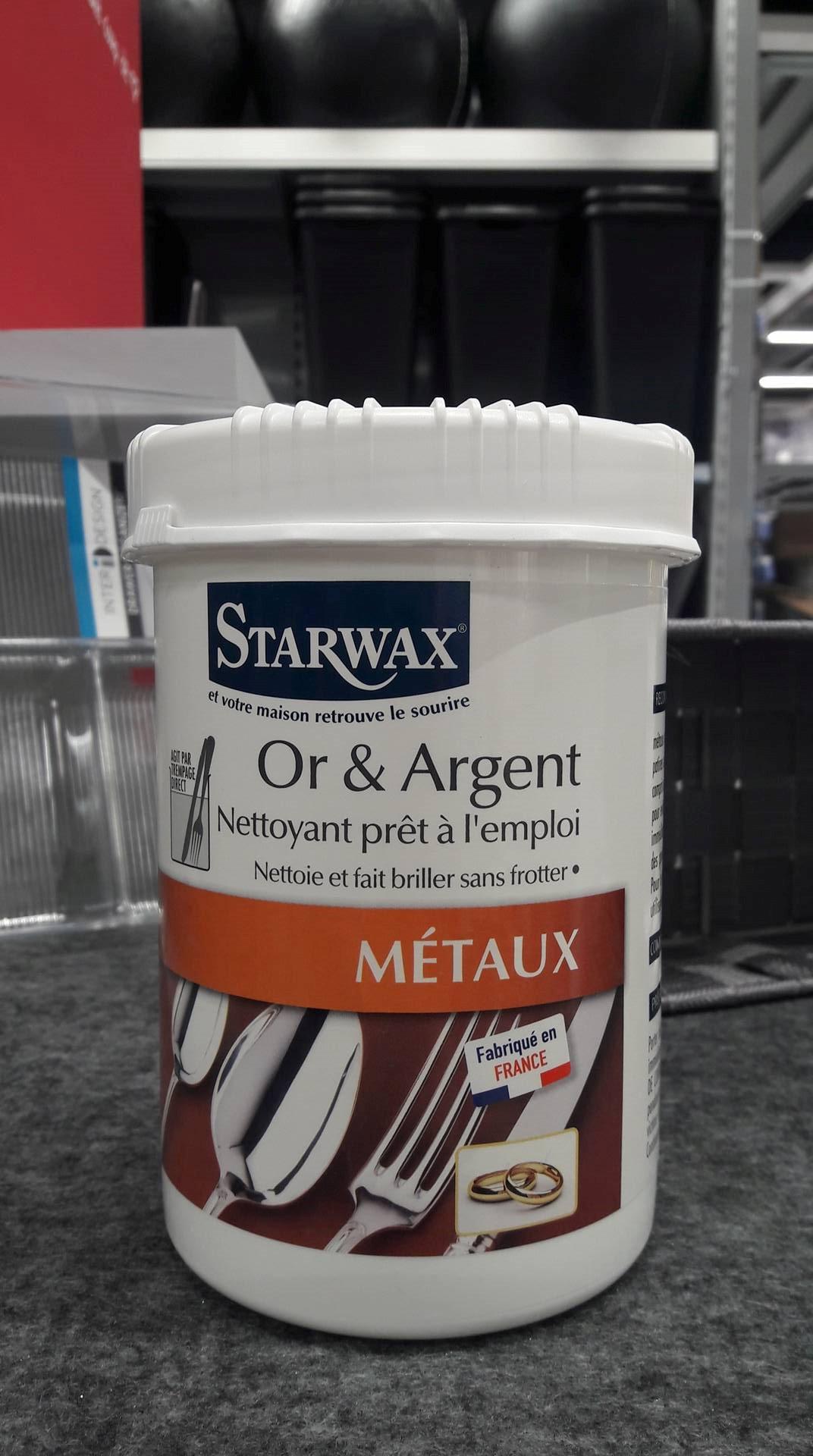 J'ai testé pour vous le nettoyant OR et ARGENT