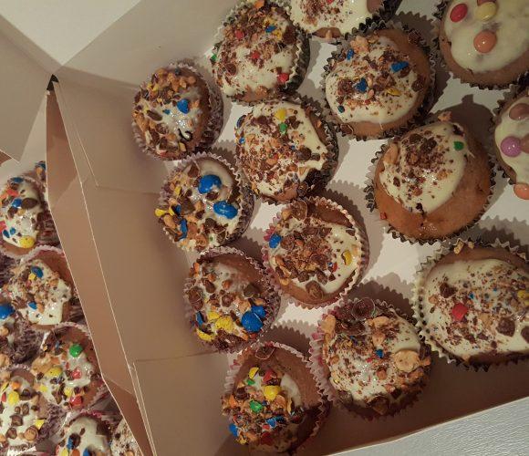 Cupcakes  mms par mon fils