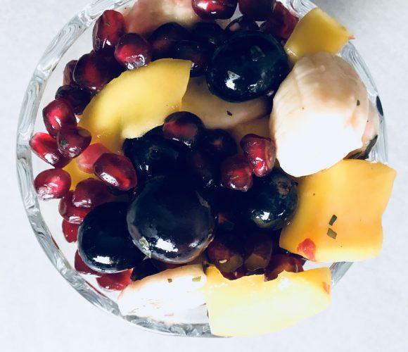 Salade de fruits pour le goûter
