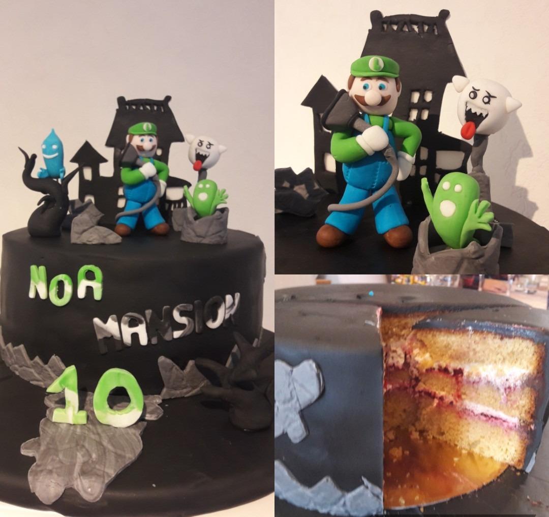 Decoration gâteau anniversaire sur le thème