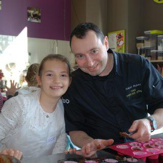 9 ans Lucie avec Gerald