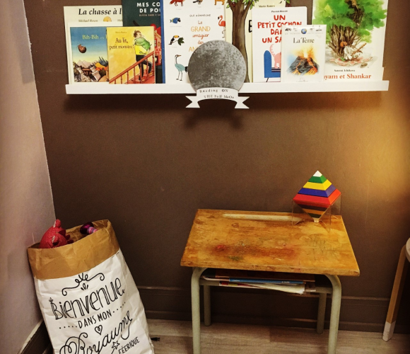 Etagère livres enfant, rapide et simple!