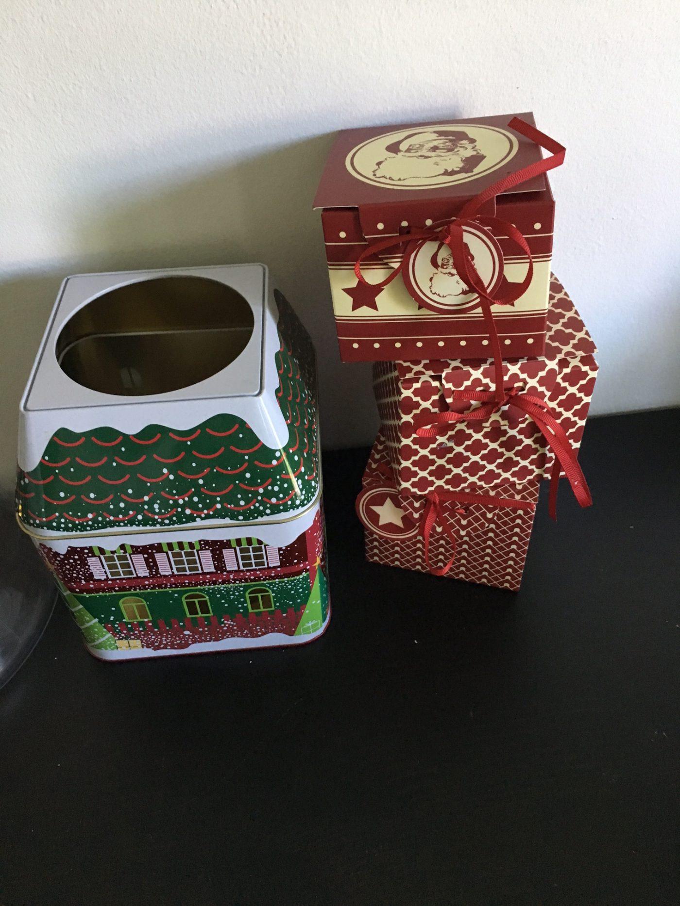 J'ai testé pour vous le lot de 3 boites pour vos petits biscuits