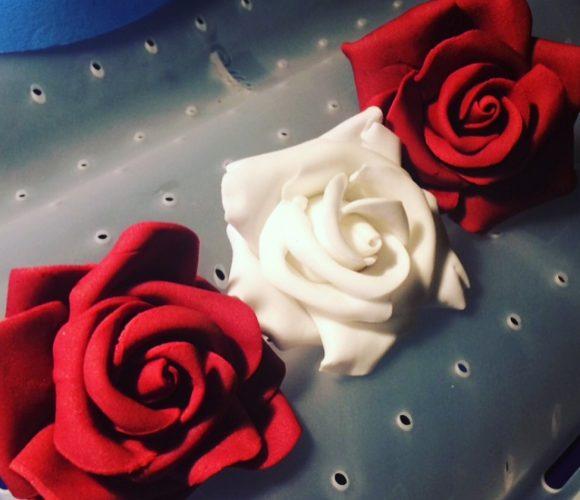 Tutoriel Rose en pâte à fleurs