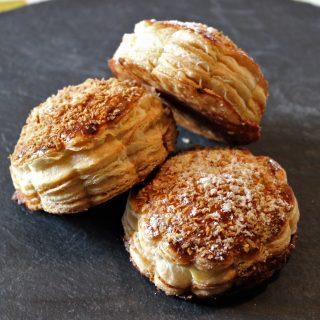 Mini galettes choco-coco